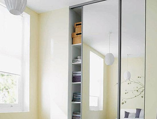 Une porte miroir - Glass Lab Paris